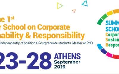 Summer School on CSR in Athens