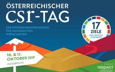 CSR-Tag 2019: Die Innovationskraft der UN-Nachhaltigkeitsziele