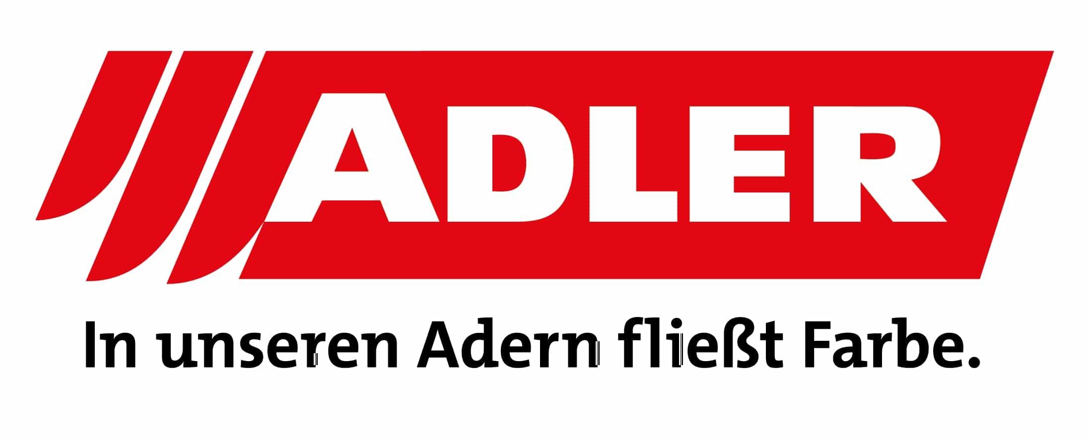 ADLER Logo_Claim_4c