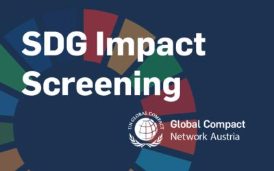 SDG Impact Screening