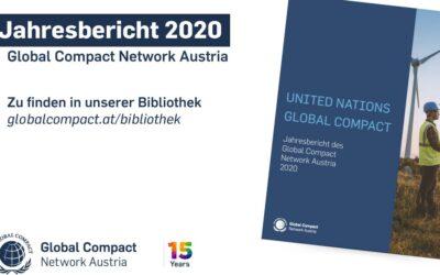 Jahresbericht Global Compact Network Austria 2020